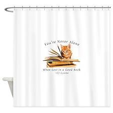 Cute Reader Shower Curtain
