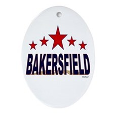 Bakersfield Ornament (Oval)