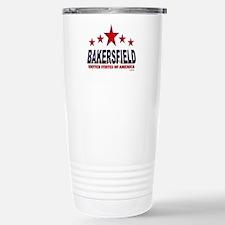 Bakersfield U.S.A. Stainless Steel Travel Mug
