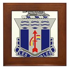 127th Infantry Regiment.png Framed Tile