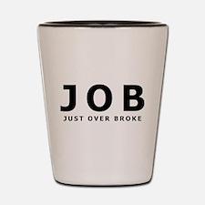 JOB Shot Glass