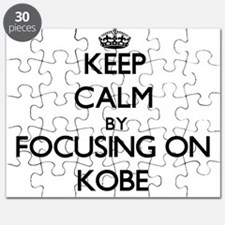 Keep Calm by focusing on on Kobe Puzzle