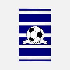 Cute Sports soccer Area Rug