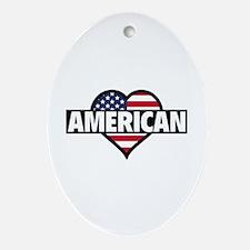 American Ornament (Oval)