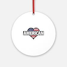 American Ornament (Round)