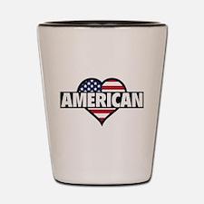 American Shot Glass