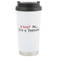 Cute Computer programmer Travel Mug