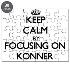Keep Calm by focusing on on Konner Puzzle