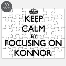 Keep Calm by focusing on on Konnor Puzzle