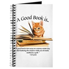 A good book is... Journal