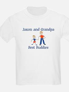 Jaxon & Grandpa - Best Buddie T-Shirt