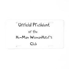 heman.png Aluminum License Plate