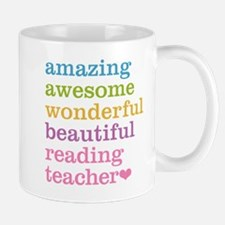 Reading Teacher Mugs