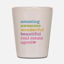 Real Estate Agent Shot Glass