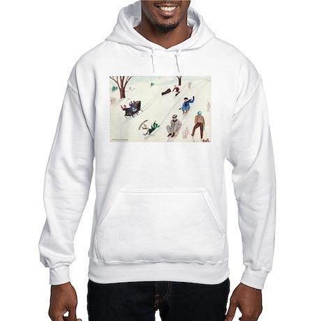Izzie's Fun in the Snow Hooded Sweatshirt