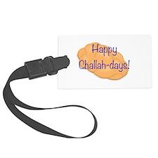 Happy Challah-days! Luggage Tag