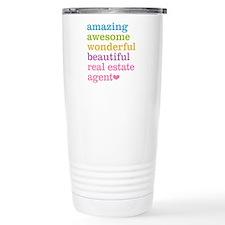 Real Estate Agent Thermos Mug