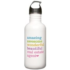 Real Estate Agent Water Bottle