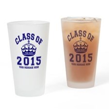 Class Of 2015 Rules Drinking Glass