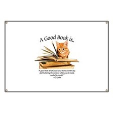 A good book is... Banner