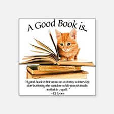 A good book is... Sticker