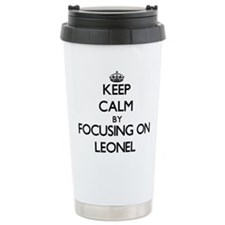 Keep Calm by focusing o Travel Mug