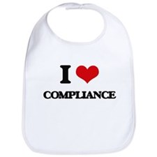 I Love Compliance Bib