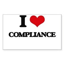I Love Compliance Decal