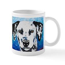 Cute Dalmatian portrait Mug