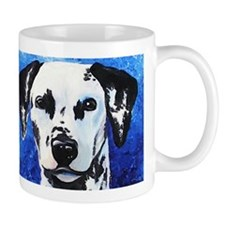 Unique Dalmatian portrait Mug
