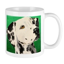 Funny Dalmatian portrait Mug