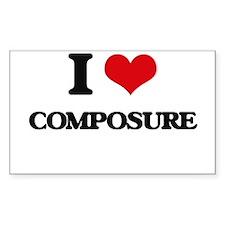 I love Composure Decal