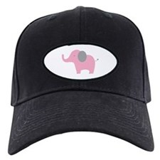Pink Elephant Baseball Hat