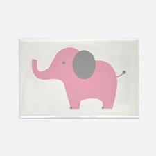 Pink Elephant Magnets