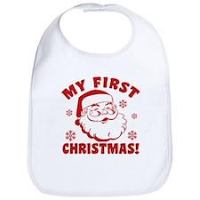 Cute 1st christmas Bib
