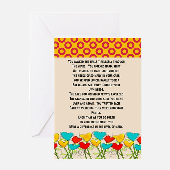 Retired Nurse Greeting Cards