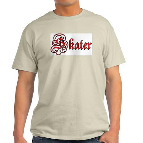 Skater Ash Grey T-Shirt