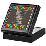 Nurse retirement Square Keepsake Boxes