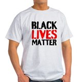 Black lives matter Mens Light T-shirts