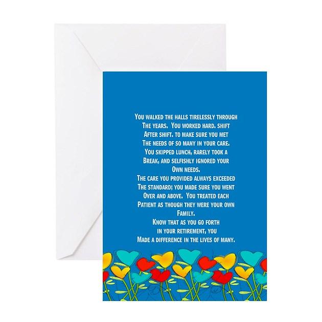 Retired Nurse Greeting Cards By Gailgabel
