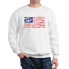 Vintage Peace In America Sweatshirt