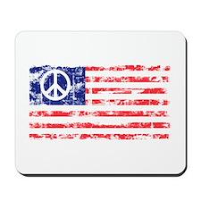 Vintage Peace In America Mousepad