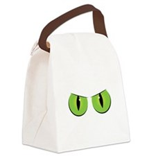 Spooky Eyes Canvas Lunch Bag