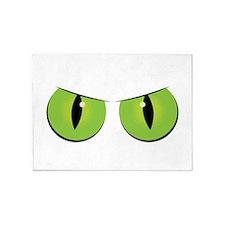 Spooky Eyes 5'x7'Area Rug