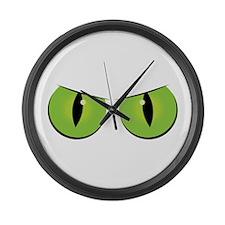 Spooky Eyes Large Wall Clock