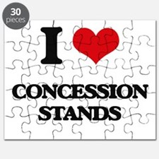 I love Concession Stands Puzzle