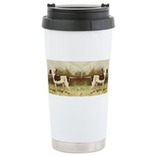 Cute Vintage dog art Travel Mug