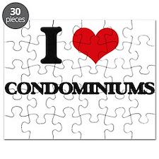 I love Condominiums Puzzle