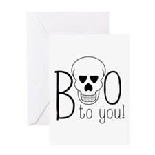 Boo To You Greeting Cards