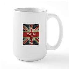 Keep Calm and Read On Mugs